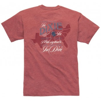 Dixie Tee: Rust Red Short Sleeve